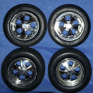 VINTAGE REVELL WHEELS* 1/12 SCALE* SHELBY GT-350 MUSTANG* CRAGAR* GOODYEAR*