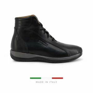 Sparco Monza-GP1 Black Shoes Sneakers in Leather
