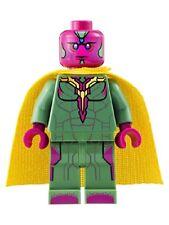 Lego Super Heroes Minifig Vision - Dark Azure Spot on Forehead 76032