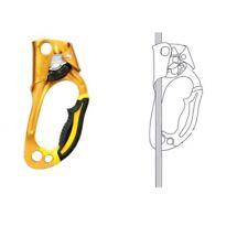 Petzl Ascension (rechts) gelb Steigklemme Sicherungsgerät Kletterausrüstung