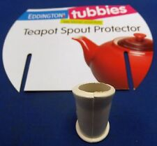 EDDINGTONS TEAPOT KETTLE NON DRIP ANTI SPILLAGE RUBBER SPOUT POTTERY PROTECTOR