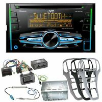JVC KW-R920BT Bluetooth CD USB AUX MP3 Autoradio Einbauset für Opel Astra J