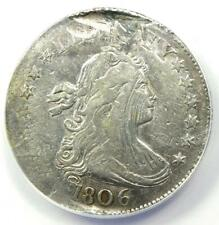 1806 Draped Bust Quarter 25C Coin - Certified ANACS VF20 Details (Damage)