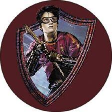 Harry Potter Badge Button Quidditch Gryffindor Broom