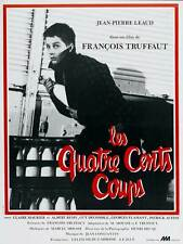The 400 Blows Movie Poster French 27x40 Francois Truffaut Jean-Pierre Leaud