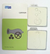 QuicKutz Scrapbooking 2x2 Cutting Die Cannon KS-0784 Cards Paper Crafts