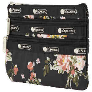 Le Sportsac 3-Zip Cosmetic Pouch 7158-F632