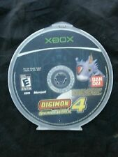 Digimon World 4 (Microsoft Xbox, 2005) [Game Disc Only]