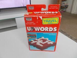 Travel Upwords By Parker Game Complete