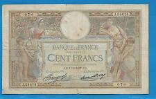 GERTROLEN  Billet 100 FRANCS  Luc Olivier Merson 17-6-1937  J.54614
