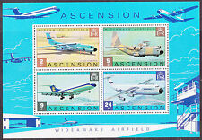 Elizabeth II (1952-Now) Sheet Ascension Island Stamps