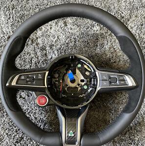 Alfa Romeo Giulia Stelvio QV heated steering wheel carbon