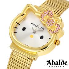 Reloj Pulsera Mujer Niña Hello Kitty Accesorio Caja de Regalo Día de la Madre