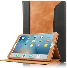 iPad Mini 4 Leather Case Protective Flip Folio Smart Cover Auto Sleep Wake Strap