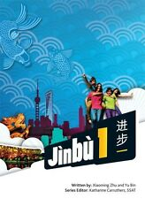 Jinbu 1 Student Book by Xiaoming Zhu, Yu Bin - For learning Chinese