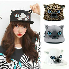 Kawaii Clothing Cute Ropa Hat Cap Cat Neko Kitty Ears Black Leopard Harajuku Emo