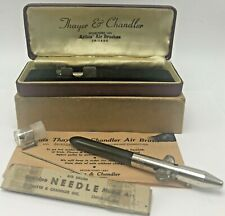 Vintage Thayer & Chandler Artist Air Brush Original Box and Paperwork 39803A