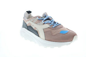 Diadora Rave Nylon 176639-30055 Mens Pink Leather Lifestyle Sneakers Shoes