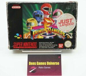 SNES Super Nintendo Power Rangers Ovp Box Only !