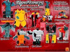2002 McDonalds Transformers Armada MIP Complete Set - Lot of 8