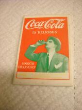 small pocket mirror coca cola is delicous good to the last drop