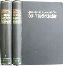 Erdmannsdörffer: Deutsche Geschichte 1648-1740; Hendel Verlag, 2 Bände