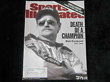 DALE EARNHARDT Sports Illustrated 2/26/01 Death of a Champion 1951-2001 DAYTONA