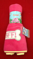 CARTE BLANCHE ME TO YOU PINK TATTY PUPPY BLANKET ACCESSORIES CLOTHES DOG