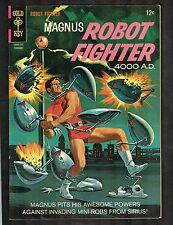 Magnus Robot Fighter #17 ~ Russ Manning Art ~ 1967 (7.0) WH