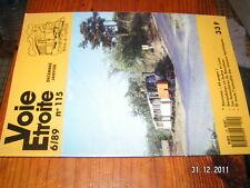 Voie Etroite n°115 Funiculaire Barcelone Saone & Loire