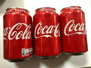 Coke cola cans full case of 24 x 330ML