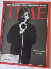 Time Magazine George Harrison George Bush December 10, 2001 051517nonrh