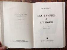 rare EO 1959 1/100 exemplaires numérotés SACHA GUITRY : LES FEMMES & L'AMOUR