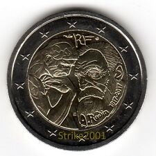 NEW !!! 2 EURO COMMEMORATIVO FRANCIA 2017 Auguste RODIN NEW !!!