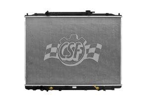 Radiator-1 Row Plastic Tank Aluminum Core CSF 3284 fits 06-09 Honda Ridgeline