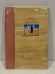 2003 Collection of Australian Stamps Album Year Book Deluxe Edition AusPost