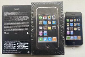 Apple iPhone 3G 16GB iOS 2.0 Unlocked GSM A1241 with Box (Original Box)