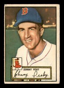 1952 Topps Set Break #15 Johnny Pesky VG-EX *OBGcards*