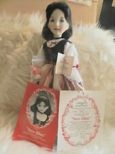 Rare Ashton Drake Snow White Doll by Dianna Effner w/ COA MIB Disney Fairy Tale