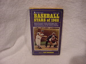 VINTAGE Baseball Stars of 1968 Book, Carl Yastrzemski, Boston Red Sox, NICE!