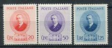 Kingdom of Italy 1938 Marconi complete set MNH ** Saxon s92