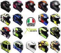 AGV K1 Helmet Full Face Motorcycle Pinlock Anti-Fog DOT ECE XS S MS ML L XL 2XL