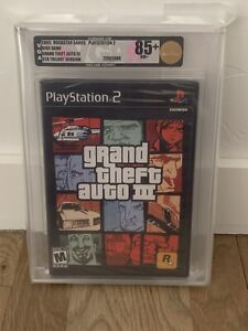 2005 Grand Theft Auto III PlayStation 2 New Sealed VGA 85+ PS2 TRILOGY VERSION