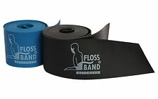 Dittmann Floss-band 1 3mmx2mx5cm Kompression Widerstand Band 100 Latex schwarz