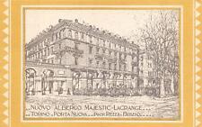 3662) TORINO, NUOVO ALBERGO MAJESTIC LAGRANGE ARCHITETTO CHARBONNET.