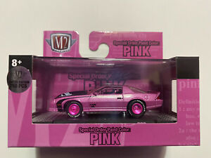 M2 Machines Special Order Paint Color: Pink 1985 Camaro IROC-Z Chase 1/750 NIB