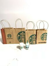 Handmade Miniature Starbucks Bags For Barbie Ken Monster Hight And Other Dolls