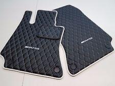 Mercedes W216 CL550 CL600 CL63 CL65 AMG Eco Leather Diamond Floor Mat 1999 -2006