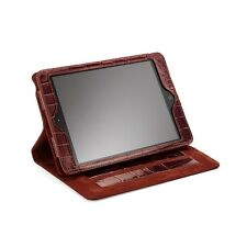 Aspinal of London Leather iPad Air Stand-Up Case. Amazon Croc. CAMSTAR Embossed.