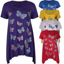 Figurbetonte Damenblusen,-Tops & -Shirts mit Wasserfall für Freizeit